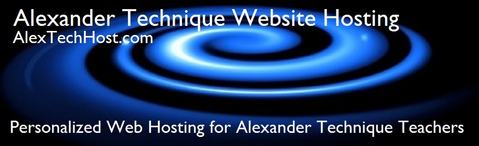 Alexander Technique Website Hosting